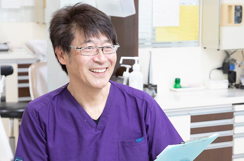 院長の専門は小児歯科